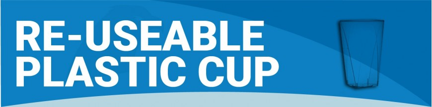 LGE050 - Re-useable Plastic Cup