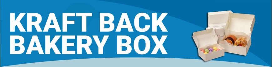 NNA020 - Kraft Back Bakery Box