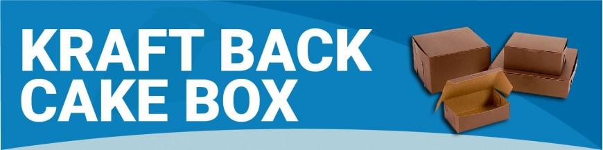 NNA010 - Kraft Back Cake Box