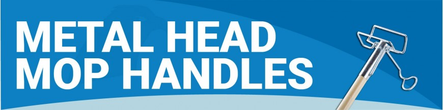 FB090 - Metal Head Mop Handles