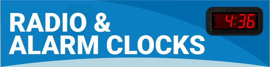 MB160 - Radio & Alarm Clocks
