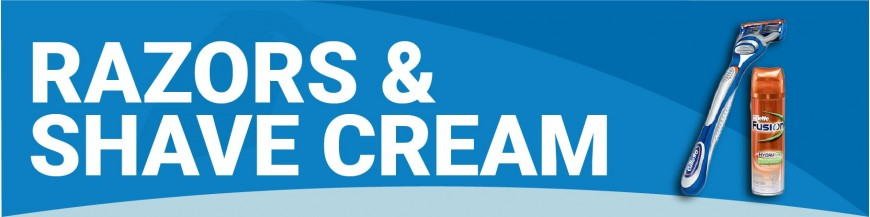 PA010 - Razors & Shave Cream