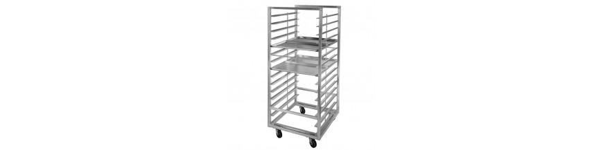 LB160 - Aluminum Order Racks