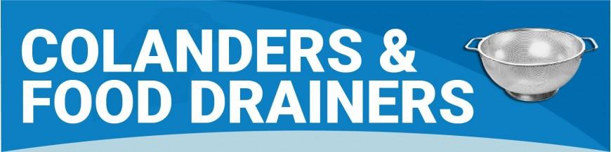 LB170 - Colanders & Food Drainers