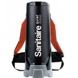 Sanitaire Quiet Clean HEPA Backpack Vac 10 qt Black