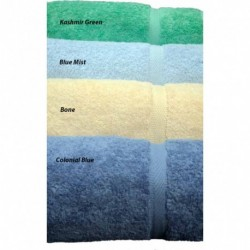 Oxford Imperial Kashmir Green Bath Towel 27x54  14.00LB