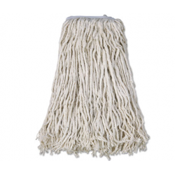 BOARDWALK MOP HEAD COTTON CUT-END WHITE 4-PLY 32 BAND