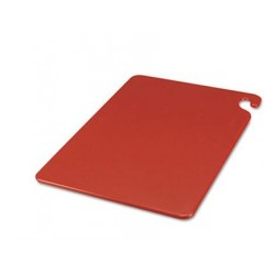 San Jamar Cut-N-Carry Color Cutting Boards Plastic Red