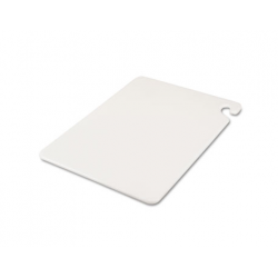 San Jamar Cut-N-Carry Color Cutting Boards Plastic White