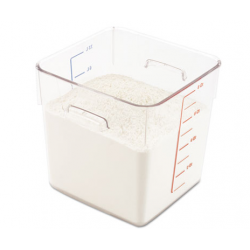 Rubbermaid Commercial SpaceSaver Square Containers 8qt