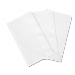 BOARDWALK DINNER NAPKIN 15 X 17 WHITE