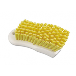 Boardwalk Scrub Brush Yellow Polypropylene Fill 6 Long White