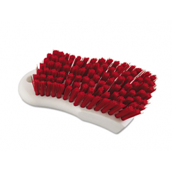 Boardwalk Scrub Brush Red Polypropylene Fill 6 Long White