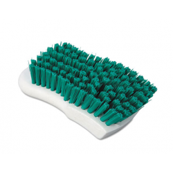 Boardwalk Scrub Brush Green Polypropylene Fill 6 Long White