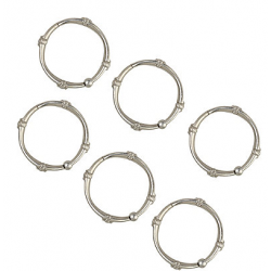 TITAN NeverRustT Madison Brushed Nickel Shower Rings