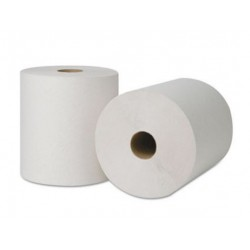 Ecosoft Hard Roll Towel 8in 1ply White  (31600)