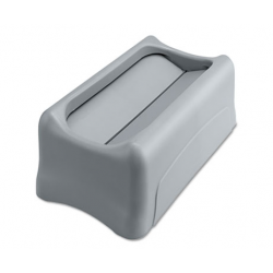 RUBBERMAID SWING LID FOR SLIM JIM WASTE CONTAINER GRAY