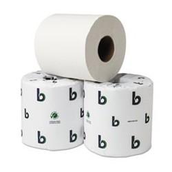 BOARDWALK- Green Plus Bathroom Tissue 2-Ply 500 Sheets per Roll White