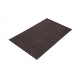 Crown Needle Rib Wipe & Scrape Mat Polypropylene 36 x 120 Brown