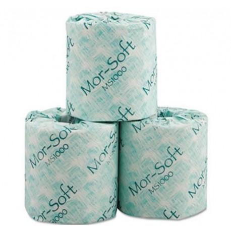 Morcon Paper MorSoft Millennium Standard Bath Tissue 1-Ply 1000 Sheets