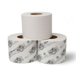 Wausau Universal Bath Tissue Roll with OptiCore 2-Ply
