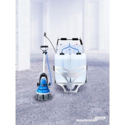 Motor Scrubber The Portable Cleaning Machine Pro Wash Portable Wheel