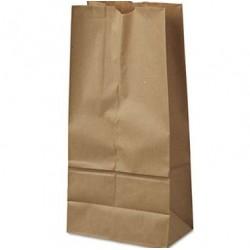 16 Paper Grocery Bag 40lb Kraft Standard 7