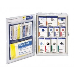 First Aid Only ANSI 2015 SmartCompliance Food Service Cabinet with o Medication 25 People 94 Piece
