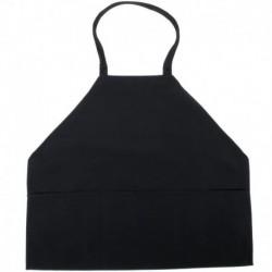 BLACK Aprons 100% Spun Polyester W/ Pockets