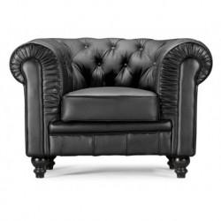 Regal Armchair - Black