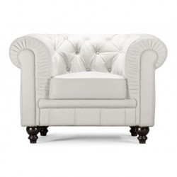 Regal Armchair - White