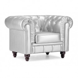 Regal Armchair - Silver