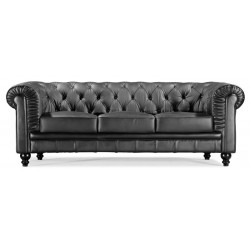 Regal Sofa - Black