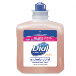 DIAL ANTIMICROBIAL FOAM HAND SOAP 1 LITER REFILL