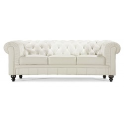 Regal Sofa - White