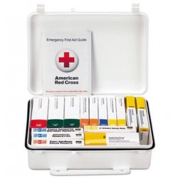 First Aid Only Unitized ANSI Class A Weatherproof First Aid Kit for 25 People 16 Units