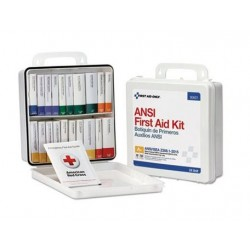 First Aid Only Unitized Weatherproof ANSI Class A+ First Aid Kit for 50 People 24 Units