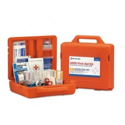 First Aid Only ANSI Class A+ First Aid Kit for 50 People Weatherproof 215 Pieces
