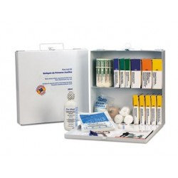 First Aid Only First Aid Station for 50 People 196-Pieces OSHA Compliant Metal Case