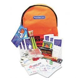 PhysiciansCare by First Aid Only Emergency Preparedness First Aid Backpack 63 Pieces