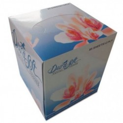 GEN Facial Tissue Cube Box 2-Ply White
