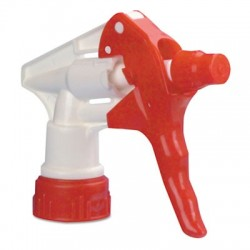 Boardwalk Trigger Sprayer 250 f 24 oz Bottles Red & White 8Tube