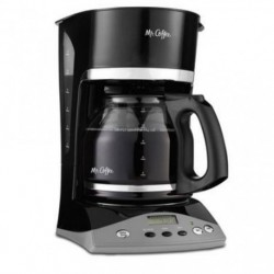 12-Cup Programmable Coffeemaker with 2-hour auto shut off    (BLACK)