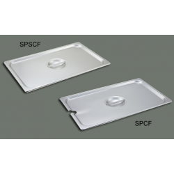 S/S Steam Pan Cover Half-size Solid