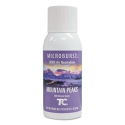 RUBBERMAID- Commercial Microburst 3000 Refill Mountain Peaks 2oz Aerosol