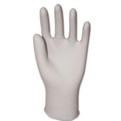 GEN General-Purpose Vinyl Gloves Powdered Small Clear