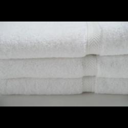 9610 CLASSIC ECONOMY COTTON BATH TOWELS 24 X 50 10.50 lbs WHITE