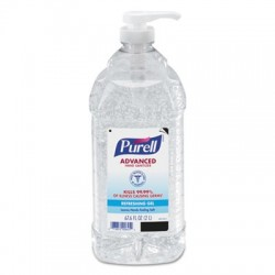 Purell Advanced Instant Hand Sanitizer 2-Liter Bottle