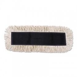 Boardwalk Disposable Cut End Dust Mop Head Cotton & Synthetic 24w x 5d White