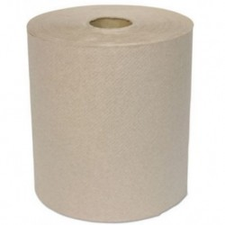 General Supply Hardwound Roll Towels 1-Ply Kraft 8 x 700 ft